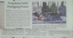 Gambar Minggu 002 - Pencitraan Pemkot atas kasus Saiful Munif
