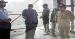 Bupati meninjau di Malaka Kecamatan Pemenang