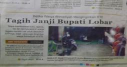 (Di kutip dari Radar Lombok edisi Sabtu 3 Maret 2012)