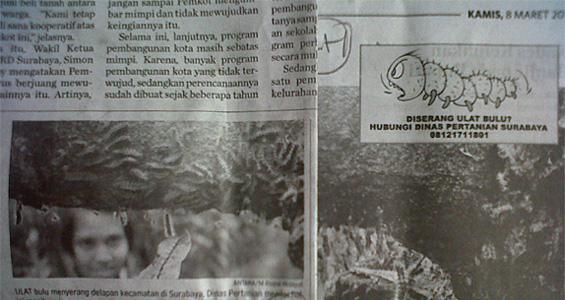 Foto_Laporan_Mingguan_Surat_Kabar_Surabaya_Post_08&10_Maret_2012