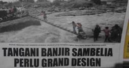 Tangani Banjir Sambelia Perlu Grand Design