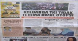 Dikutip dari Radar Lombok 30 april 2012