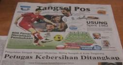 Headline Tangsel Pos 8 Juni 2012. Courtesy: Tangsel Pos