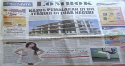 Dikutip dari Radar Lombok 19 Juni 2012