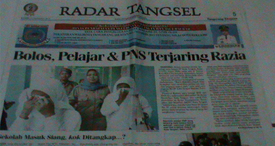 Tangerang Ekspres 13 September 2012