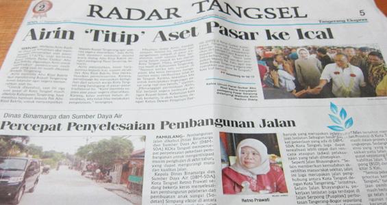 Tangerang Ekspres 17 September 2012