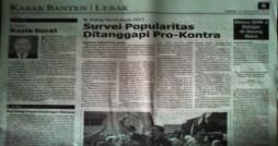 Dikutip dari media Kabar Banten
