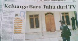Kediaman keluarga Agus Anton Figian (terduga teroris oleh Densus 88 Antiteror Polri di Madiun) di RT 4 RW 11 Dusun Kepel, Desa Lojejer, Wuluhan, terlihat sepi.
