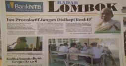 (Dikutip dari Radar Lombok edisi 29 Oktober 2012)