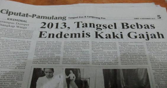 Tangsel Pos 16 November 2012