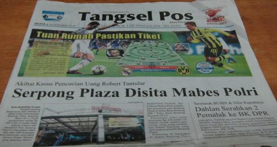 Tangsel Pos 6 November 2012