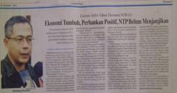 (Dikutip dari Lombok Post edisi 26 Januari 2012)