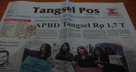 Tangsel Pos 11 Desember 2012