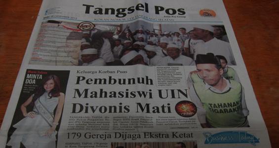 Tangsel Pos 19 Desember 2012