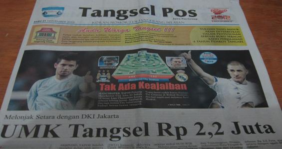 Tangsel Pos 21 November 2012