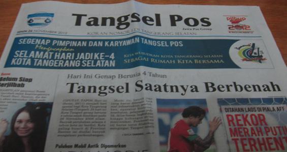 Tangsel Pos 26 November 2012