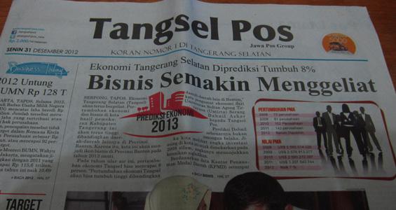 Tangsel Pos 31 Desember 2012