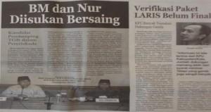 (Lombok Post 16 Januari 2013)