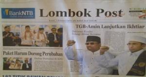 (Lombok Post 7 Februari 2013)