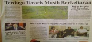 (Di kutip dari Lombok Post edisi 8 Januari 2013)
